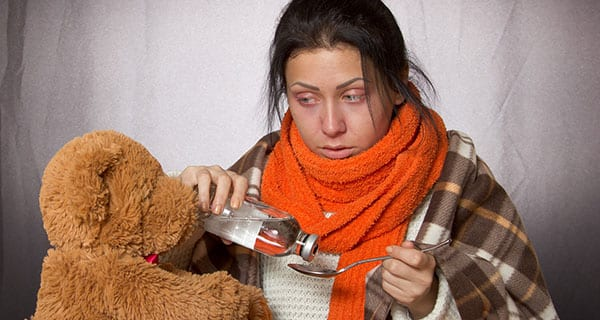 Antibiotics no cure for colds or flu