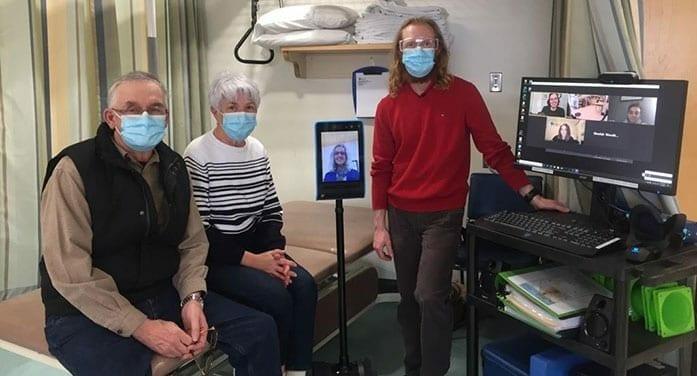 physiotherapy Tele-Rehab physiotherapists Sheelah Woodhouse Alec Chisholm