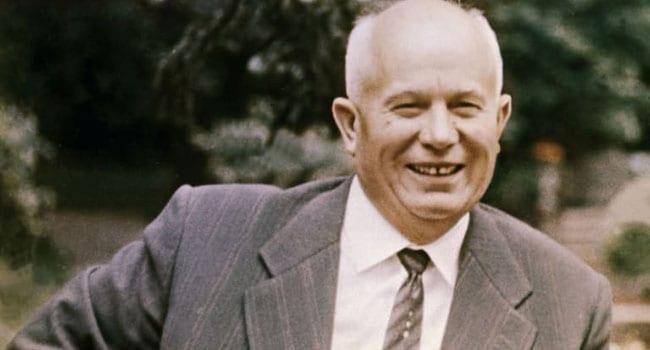 When Khrushchev spilled the beans